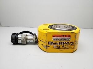 Enerpac Rsm 500 Hydraulic Cylinder 50 ton Cap 63 Stroke Low Height 10000 Psi
