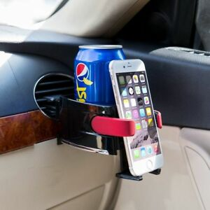 Drink Holder Phone Car Beverag Plastic Universal Cup Mobile Clip Mount Cup Auto