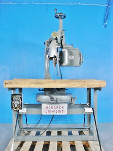 American Monarch Uni point Radial Arm Saw Miter Type