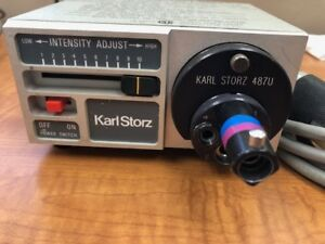 Karl Storz 481 c Endoscopy Mini Light Source With 487 U Turret Adaptor