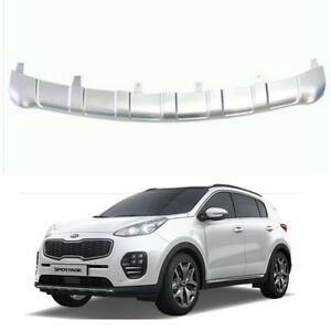 Oem Parts Front Bumper Guard Skid Plate Silver For Kia Sportage Ql 2016 2017