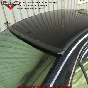 Flat Black 178 Qrl Type Rear Roof Spoiler Wing For 2009 2013 Acura Tsx Cu2 Sedan