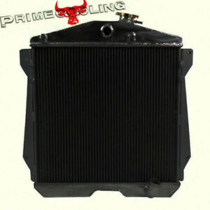 4 Row Radiator For 1943 1948 46 45 Chevy Fleetline fleetmaster stylemaster 6cly