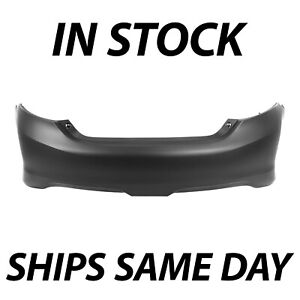 New Primered Rear Bumper Direct Replacement For 2012 2013 2014 Toyota Camry Se