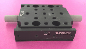 Thorlabs Dt25 m 25 Mm Dovetail Translation Stage M6 Taps 1 Inch Travel
