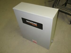 100 Amp Generac Ats Automatic Transfer Switch Rtsn100j3 120 240v service Rated