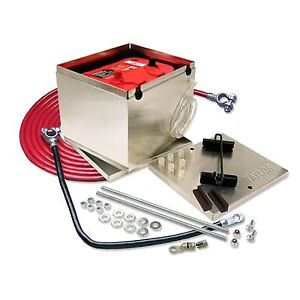 Taylor 48201 Nhra Approved Aluminum Battery Relocation Kit