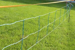 Electric Netting Fence Kit 3 29 5 8 Blue 164 Hog wildlife Deterrent