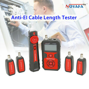 Noyafa Nf 858c Lcd Display Anti el Cable Network Length Tester Tracker Durable