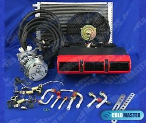 A C Kit Universal Underdash Evaporator 405red 12v W Electrical Harness