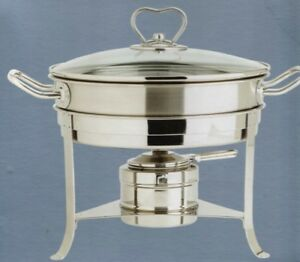 The Main Ingredients 2 75 qt Stainless Steel Chafing Dish