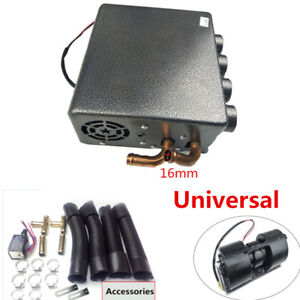 Universal Trunk Underdash Compact Heater 12pcs Pure Copper Tube Speed Switch