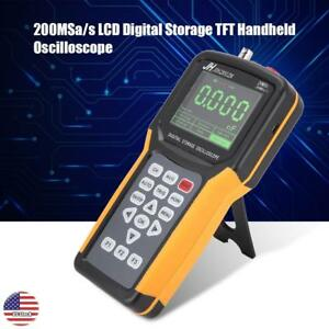 Handheld Digital 200msa s Oscilloscope Multimeter Tft Lcd Digital Storage 20mhz