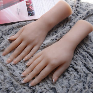 2018 New Silicone Hand Model Female Hand Mannequins Display A Pair S3 A416