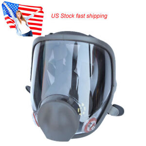 Us Large Full Face Gas Mask Painting Spraying Respirator For 6800 Facepiece