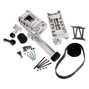 For Ford F 150 75 96 Weiand 77 174fsbp 1 177 Blower Polished Supercharger Kit