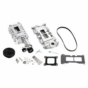 Weiand 6508 1 142 Blower Pro street Polished Supercharger Kit