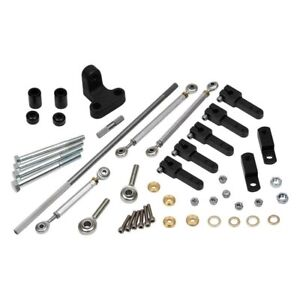 For Ford F 150 1975 1985 Weiand 4025 2 X 4 Carburetor Linkage Kit