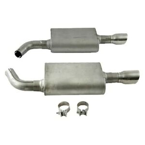 For Lincoln Mks 10 16 Exhaust System Ultra Flo Stainless Steel Axle Back Exhaust