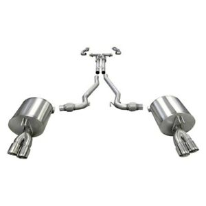 For Pontiac G8 08 09 Corsa Sport 304 Ss Cat back Exhaust System W Quad Rear Exit
