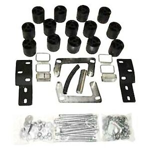 For Ford Ranger 98 00 Performance Accessories 3 X 3 Front Rear Body Lift Kit