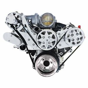 For Chevy Silverado 1500 05 14 Front Serpentine Belt Drive System