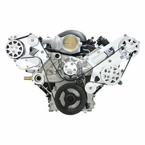 For Chevy Camaro 12 15 All American Billet Front Serpentine Belt Drive System