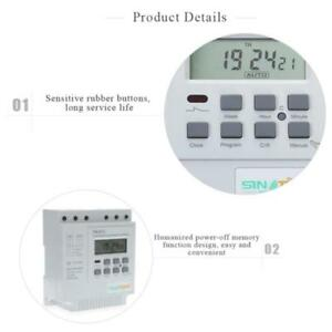 380v Programmable Control Power Digital Time Switch Power Timer Lcd Display