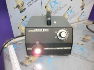 Ram Optical Instrumentation 30 2500 00 120 Vac 60 Hz 150 Illuminator 1