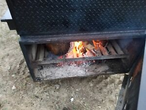 trailer Smoker Bbq Pit 20 Ft Hbt Smokers Brand Goliath Model
