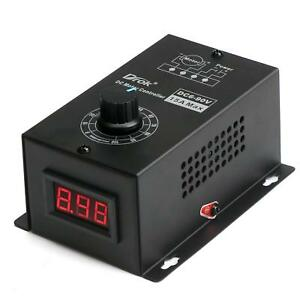 Drok Motor Controls Dc 6 90v 15a Multistage Stepless Brushed Motor Speed Control