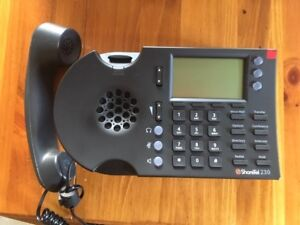 Shoretel Ip230 Ip Phone Sip Phone Voip