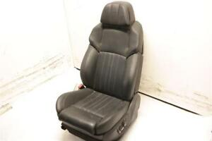 Lh Driver Black Front Bucket Seat Air Bag Leather Electric Fits 12 13 Bmw M5 Oem