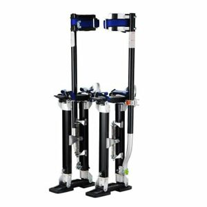 1116 Pentagon Tool tall Guyz Professional 18 30 Black Drywall Stilts For Or