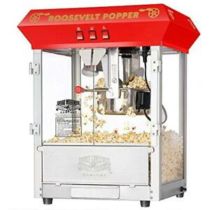 Great Popcorn Poppers Northern 6010 Roosevelt Top Antique Style Machine 8 ounce