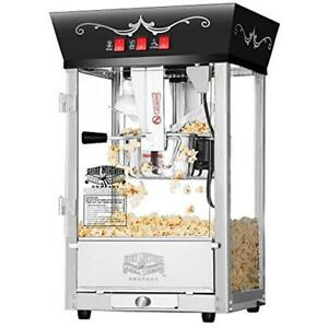 6092 Popcorn Poppers Great Northern Black Antique Style Machine 8 Ounce