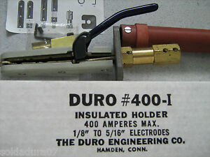 Hard Engineering Co 400 i Welding Electrodes Holder Insulated 400 Amp Made Usa