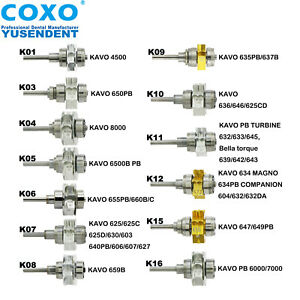 Coxo Dental Spare Rotor Cartridge For Kavo Original High Speed Turbine Handpiece