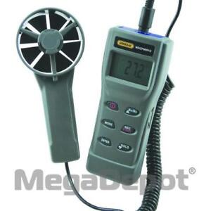 General Tools Wdcfm8912 Digital All in one Air Flow Meter