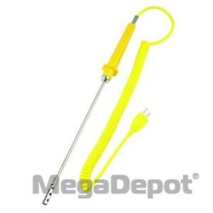 General Tools Tpk04 Type k Air Thermocouple Probe With Extendable Cord