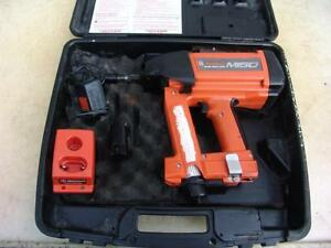 Ramset M150 Single Shot Gas Fastening Tool Battery Charger Works Well