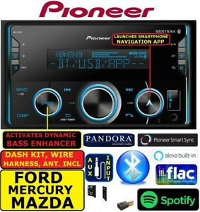 Ford Mercury Mazda Pioneer Car Radio Stereo Bluetooth Usb Double Din
