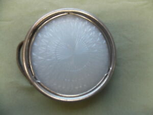 Vtg 1920 30 S Courtesy Dome Light Assy With Cut Glass Lens Essex Cord Ratrod