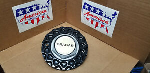 Cragar Center Cap Black 29037