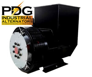 60 Kw Alternator Generator Head Genuine Pdg Industrial 3 Phase Pdg 224e 3