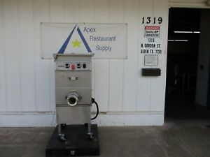 Hobart 140 Lb Meat Grinder 4246 hd 208v 3 Phase Missing Parts 3558