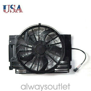 For 2000 2006 Bmw E53 X5 Ac Radiator Condenser Cooling Fan 64546921381 Durable