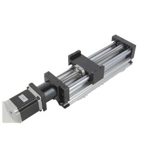 400mm Ball Screw Linear Cnc Slide Stroke Long Stage Actuator Stepper Motor Us
