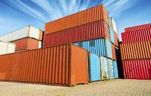 Used Shipping Storage Containers 40ft Wwt 1975 Newark Nj