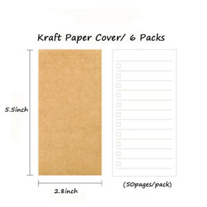 To Do List Notebooks Daily Weekly Planner Filler Paper 100 Packs